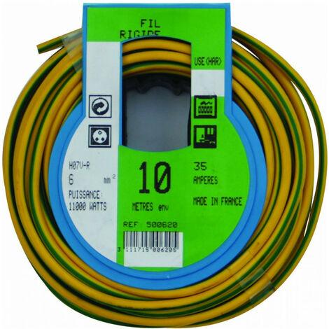 COURONNE 10M HO7V-R 6 V/J PROFIPLAST PRP500620