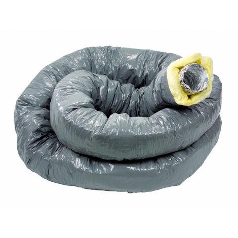 T 127 Alu Conduit Souple Aluminium Diametre 125 ATLANTIC 423030