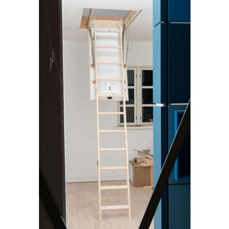 Échelle Escalier du grenier Ecowood 26 - 70 x 120 cm