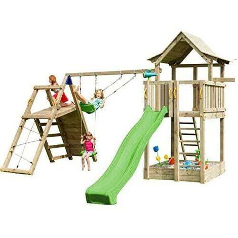 Parque infantil Masgames Pagoda L con Challenger