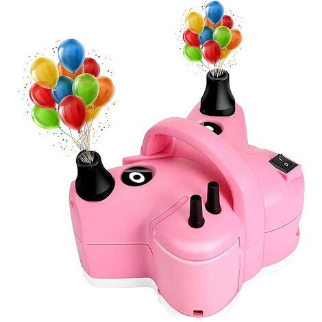 Pompe A Électrique,600W 3 en 1 Gonfleur Electrique Ballon,Pompe à Air Gonfleur/Degonfleur pour Anneau de Natation,Matelas Pneumatiques,Fête,Anniversaire,Mariage