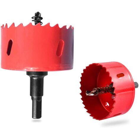 M42 Scie-Cloche Bimétallique, Scie Dentée en Métal, Lame de Scie Cloche pour jeu de corn 110 mm, pour Bois Aluminium Fer Plastique