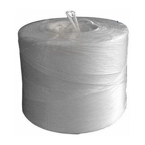 Filo per Edilizia in Nylon colore Bianco 50Mt in Matassina 10 rotoli