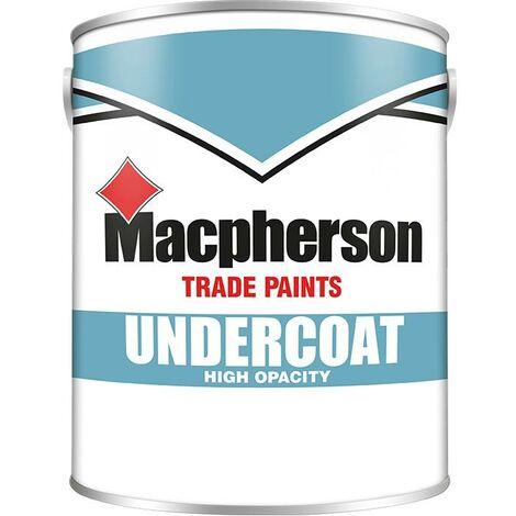 Macpherson Undercoat Paint - White - 2.5L
