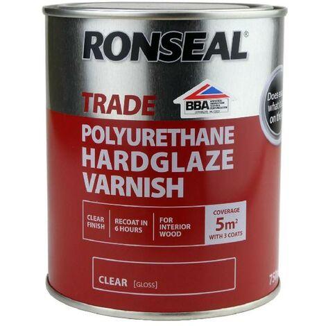 Ronseal Trade Polyurethane - Hard Glaze Gloss - 2.5L