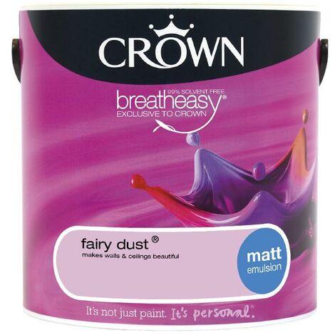 Crown Matt Breatheasy Solvent Free - Fairy Dust - 2.5L