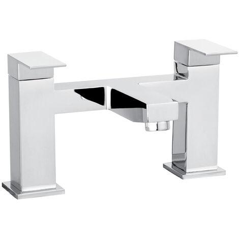 "Cascade Chrome 3/4"" Edge Deck Mounted Bath Filler Tap - 006.26.3"