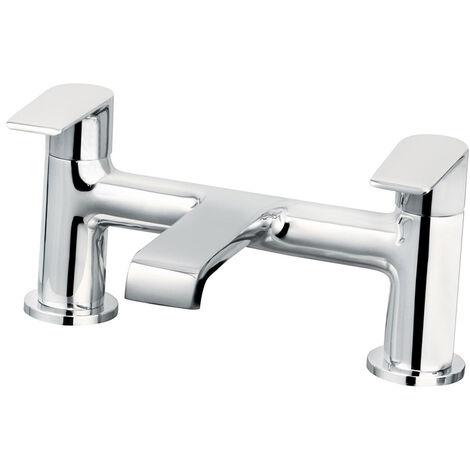 """Cascade Chrome 3/4"""" Cadence BSP Deck Mounted Bath Filler Tap - 007.26.3"""