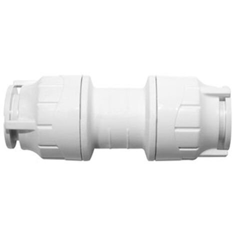 Oracstar PolyFit White 22mm Straight Coupler Plumbing Fitting - Pack of 5