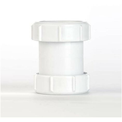 Oracstar MaKe Compression Straight Coupler - 40mm Plumbing Fitting