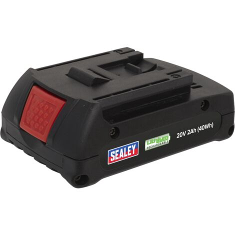 Sealey Lithium-ion Battery 20V 2Ah for CP314 & CP316