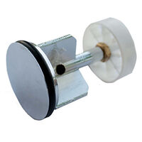 """Oracstar 1 1/2"""" Chrome Plated Pop Up Plug with Strainer"""