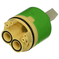 Oracstar Ceramic Disc Tap Cartridge with Open Outlet - 35mm