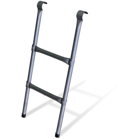 Leiter für Trampolin mit einem Durchmesser von 245 oder 250 cm - Aus Stahl - Qualität PRO. | EU-Normen