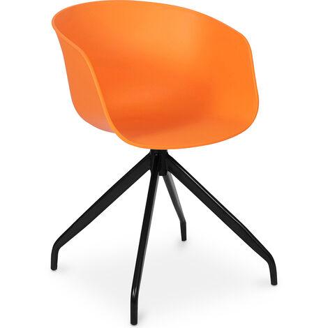 Design Bürostuhl Orange