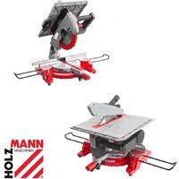 Holzmann TK305 305mm DUO circular sawbench & mitre saw