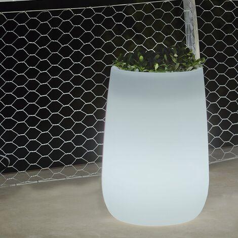 Pot lumineux Haut MOOVERE Blanc Translucide