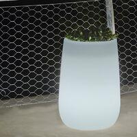 Pot lumineux Haut MOOVERE Solaire+Batterie rechargeable