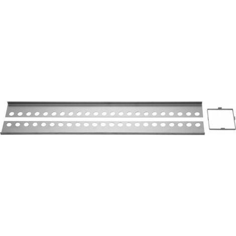 "Duschsystem Slot Edelstahlprofil-Set12mm-""41069837"""