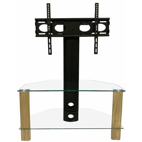 """Alphason Century Cantilever Oak 800 TV Stand Unit For Up To 50"""" Screen"""