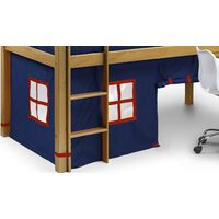 Georgianna Children's Cabin Bed - Tent Only Blue