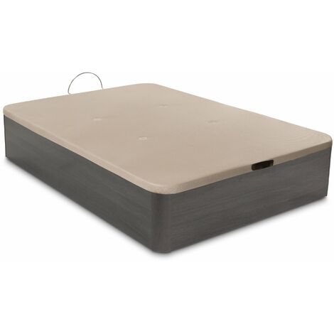 Canape abatible Plus air - Ceniza - 90x180