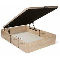Canape abatible Plus air - Cerezo - 150x180