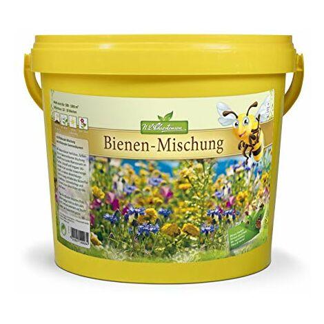 N.L.Chrestensen - Pastura per apicoltura: miscela di sementi di fiori multicolori amati dalle api, un paradiso per tutti gli insetti