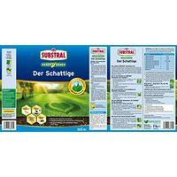 Substral Lawn Seed The Shady Shadow Lawn - Unique Premium Lawn Seed Compound per macchie ombreggiate con erba della foresta reale - 1 kg per 50 m²