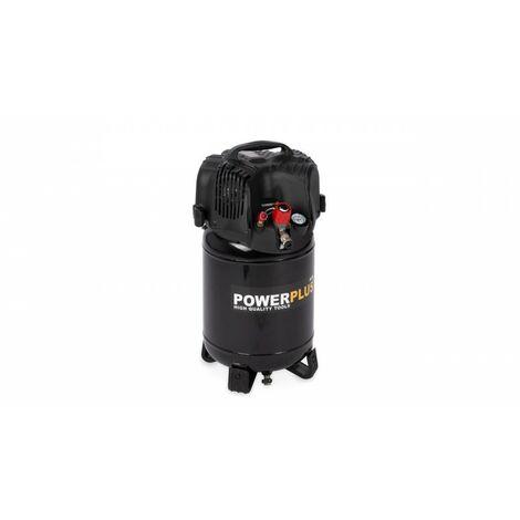 Compresseur 1100W 24L +12pcs sans huile 1,5CH
