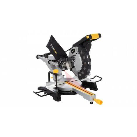 Scie à onglet télésc. 2000W-254mm