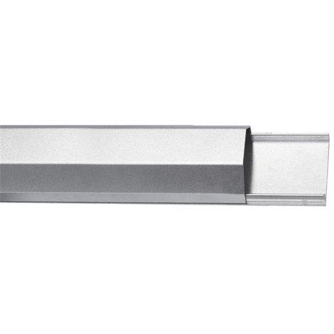 Goulotte Passe-Câbles - Aluminium - 50Mm X 1100Mm - Argenté