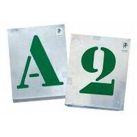 Vignette A Jour Alphabet 80Mm Sc