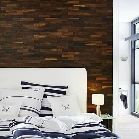 Parement Bois Taiga Revêtement Mural Bois 200mm   1m²