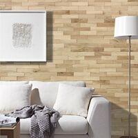 Parement Bois Chêne Nature Revêtement Mural 200mm | 1m²