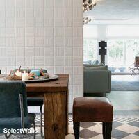 Parement Bois 3d SelectWalls Panneau 3D Caro 2,5m²