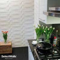 Parement Bois 3d SelectWalls Panneau 3D Finn 2,5m²