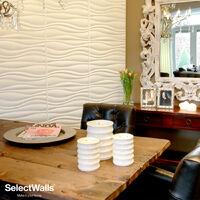 Parement Bois 3d SelectWalls Panneau 3D Jade 2,5m²