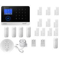 Drahtloses 433-MHz-Alarmsensor-Sicherheitsalarmsystem für Türfenster