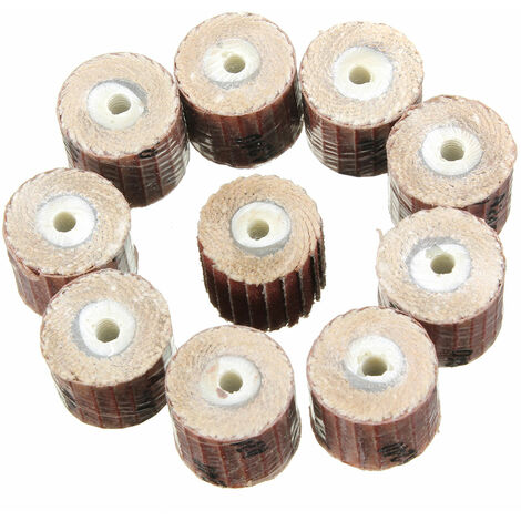 10X Wheel Sanding Polishing Drill Pr Dremel Rotary Tool 240 # Mohoo