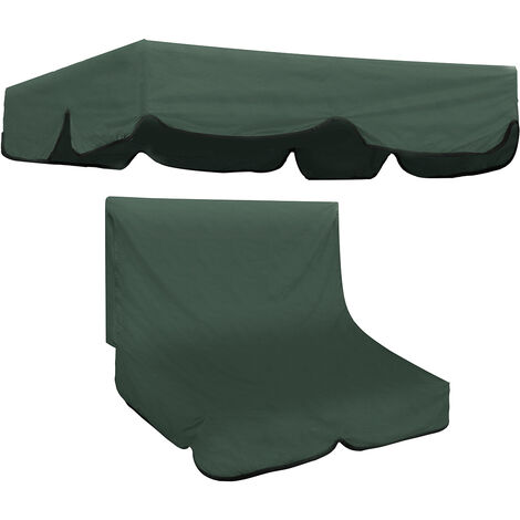 D Mohoo 2/3 Seater Swivel Garden Chair Canopy Replacement Seat Cover
