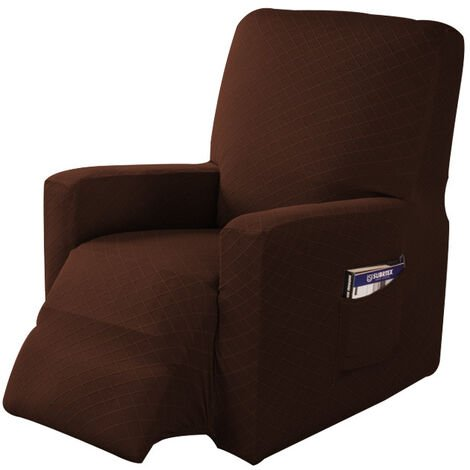 Sofa Recliner Stretch Sofa Cover Armchair Cover (coffee)