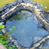 12S PVC Waterproof Membrane Pr Pond Fish Tank 3.0m X 3.0m Mohoo