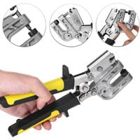 """10 """"Stud Crimper TPR Metal Handle Poin? On Lock Hand Dry Wall Plaster Poin? On Mohoo Board"""