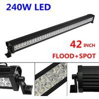 42 '' 240W LED LIGHT BAR FLOOD TIP WORK LIGHT FOR 4X4 Mohoo