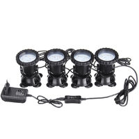 RGB LED Spot Lamp Underwater Swimming Pool Aquarium + Remote Control AC100-240V Mohoo