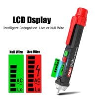 Electricity detector AC test pencil Digital multi-function Induction Mohoo