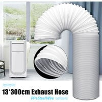 118 '' Air Conditioner Exhaust Pipe Tube Mohoo 5 '' Diameter Exhaust Pipe Steel Wire