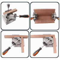90 Degree Corner Clamp Angle Angle Woodworking Vice Wood / Metal Welding / Mohoo Welding