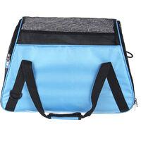 Portable Pet Dog Cat Carrier Bag 52x24.5x33cm Blue Mohoo